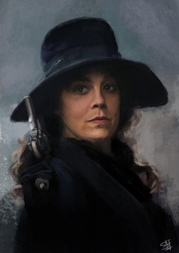 Aunt Polly. Helen McCrory. Peaky Blinders by ISHved