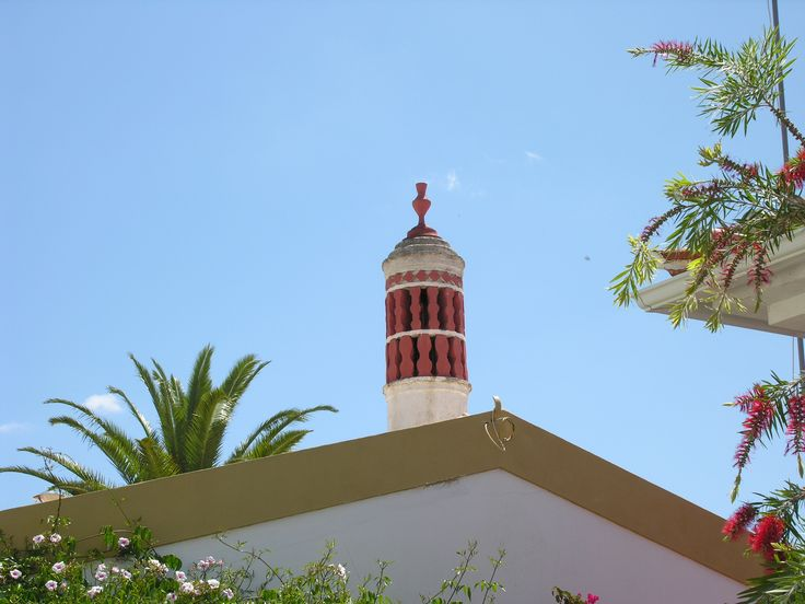 Chaminé - Kamin in Alte - Barrocal der Algarve