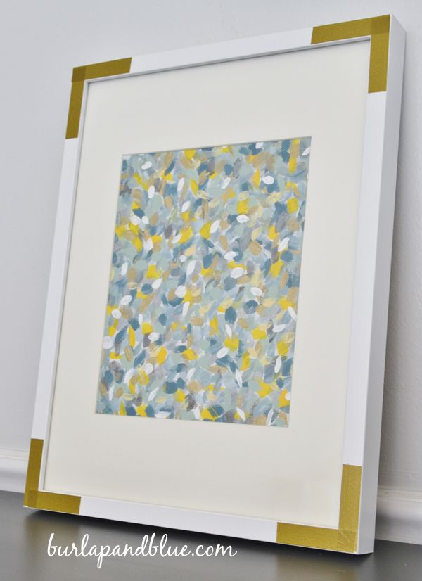 how to make abstract art on canvas