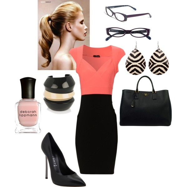 The Working Woman, created by michtach on Polyvore