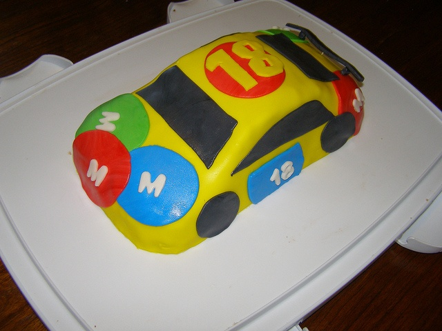 Kyle Busch Cake by Laura Cole2, via Flickr