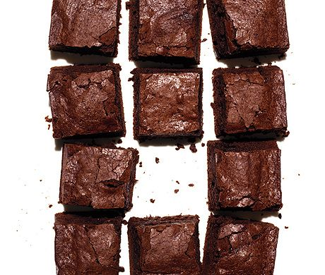 Cocoa Brownies Recipe  at Epicurious.com