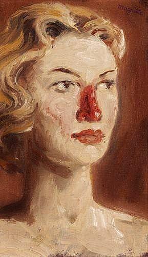 René Magritte - Penelope by Rene Magritte