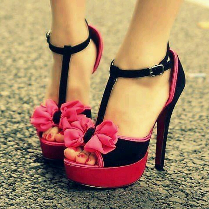 187 best Shoes I Love / Pink and Black images on Pinterest