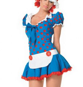 Kostuum Lappenpop Rag Doll -De Kaborij - Carnavals & Partykleding