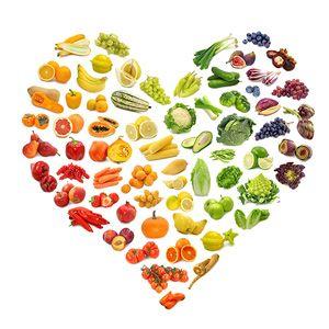 Food Rainbow, Healthy Heart