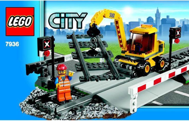 LEGO Level Crossing Instructions 7936, City
