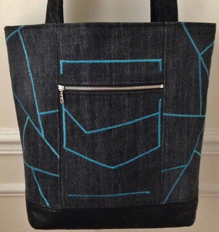3607 best z rifl images on pinterest bags denim bag and jean bag - Deco cuisine bleu turquoise ...
