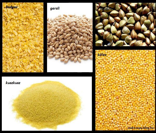 Gabonakörkép receptekkel