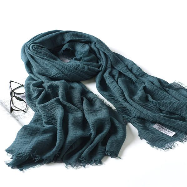 LYZA 200CM Winter Oversize Blanket Wrap Polyester Scarf Warm Shawl For Women Long Scarf at Banggood