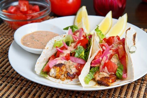 Blackened Catfish Tacos A Southern take on Tacos with blackened fish ...