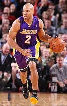 Derek Fisher!!! One of my favorite Lakers...:( sucks he is no longer one.