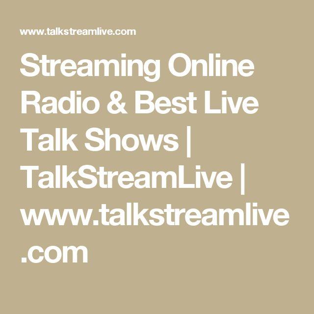 Streaming Online Radio & Best Live Talk Shows | TalkStreamLive | www.talkstreamlive.com