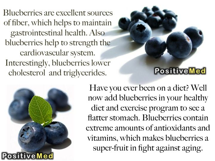 blueberries health benefits by positivemed