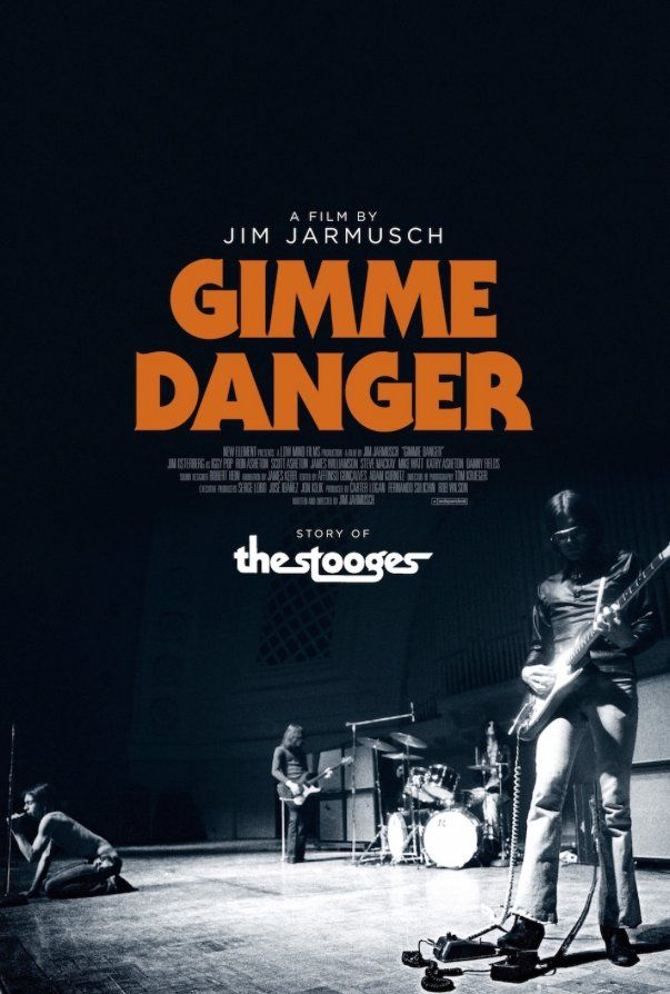 Gimme Danger by Jim Jarmush.  #Cannes2016 Midnight Screenings.  Poster.