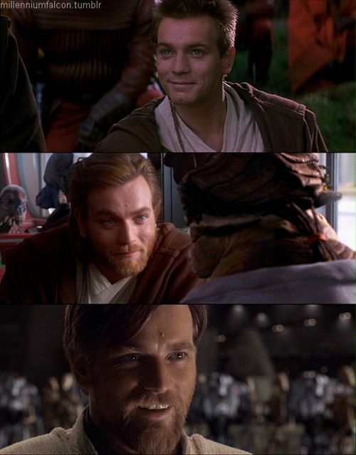 Obi-Wan. Give me one good reason why I can't marry him.