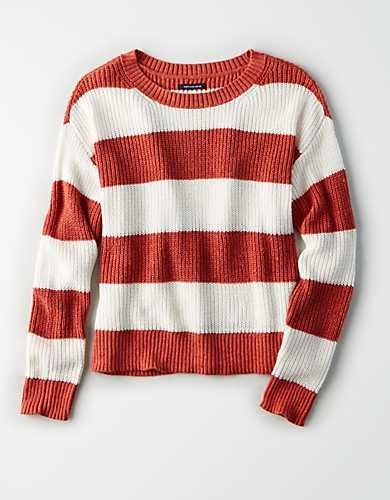 74e35f6457 AE Rugby Stripe Sweater - | shirts i want | Sweaters, Cat sweaters ...