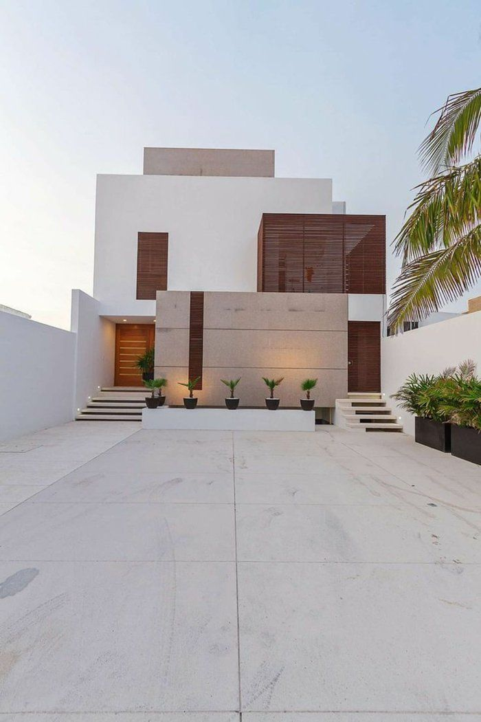 17 best ideas about modern home exteriors on pinterest for Architecture moderne maison