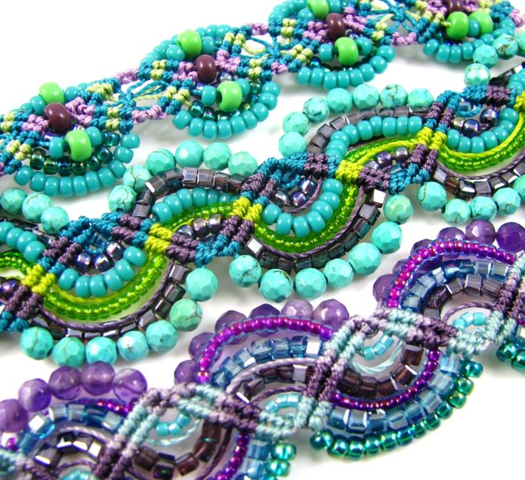 See also Size 6 Miyuki Seed Beads and Size 8 Miyuki Seed Beads Click here for your FREE Micro Macrame Pattern!