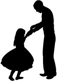 Image result for father daughter dance silhouette