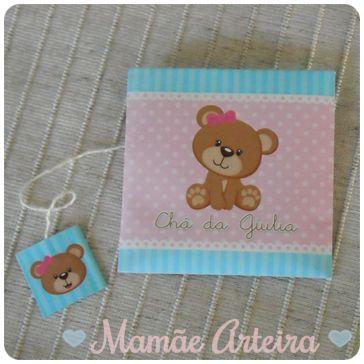 Mamãe Arteira: Chá de bebê da Giulia: Lembrancinhas
