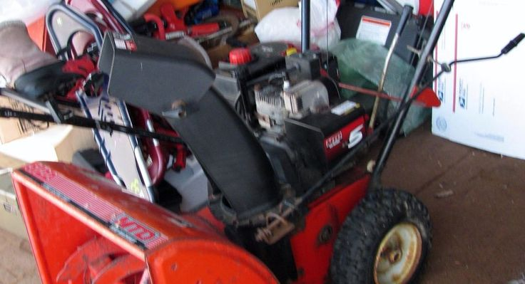 MTD SNOWBLOWER 5/22 8hp 24 INCH CUT ELECTRIC START 2 STAGE