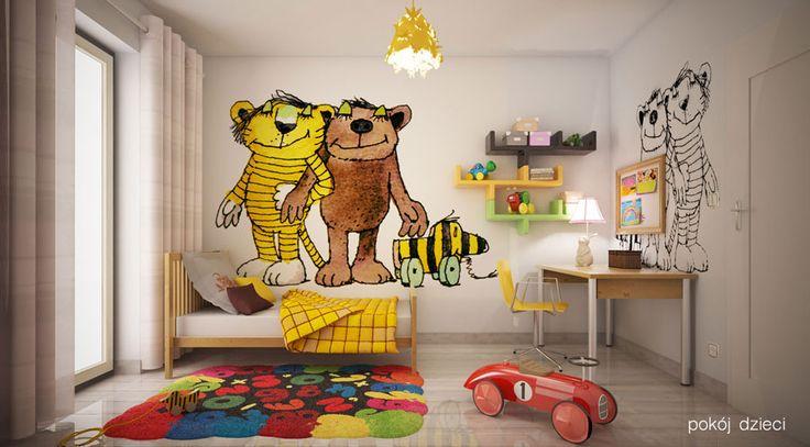 Skoro wiadomo, że Świerkowa Polana to wprost idealne miejsce dla rodzin z dziećmi - może warto zastanowić się jak urządzić wymarzony pokój dla naszych pociech? Trochę inspiracji! :)