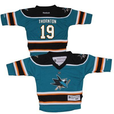 Reebok Joe Thornton San Jose Sharks Infant Replica Player Jersey - Teal  For my favorite baby in the world!