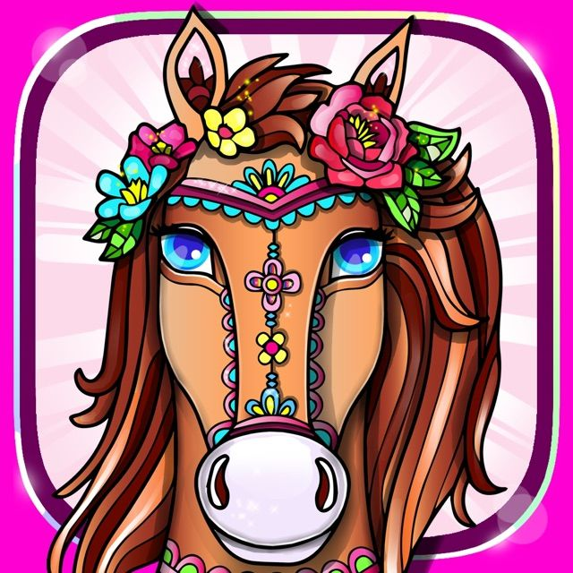 Flower Coloring Books For Adults Roses Mandalas On The App Store Coloring Books Stress Coloring Book Anti Stress Coloring Book