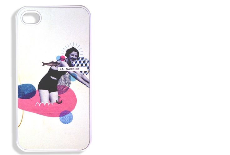 "Coque iPhone ""Sardine"" by Lolita PICCO"
