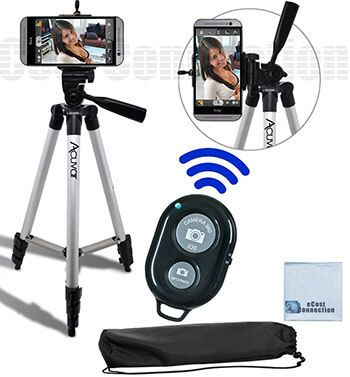 eCostConnection Aluminum Tripod for Smartphone