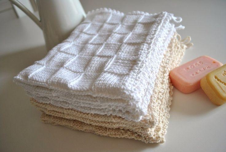 ber ideen zu gestrickte waschlappen auf pinterest sp llappen gestrickte. Black Bedroom Furniture Sets. Home Design Ideas