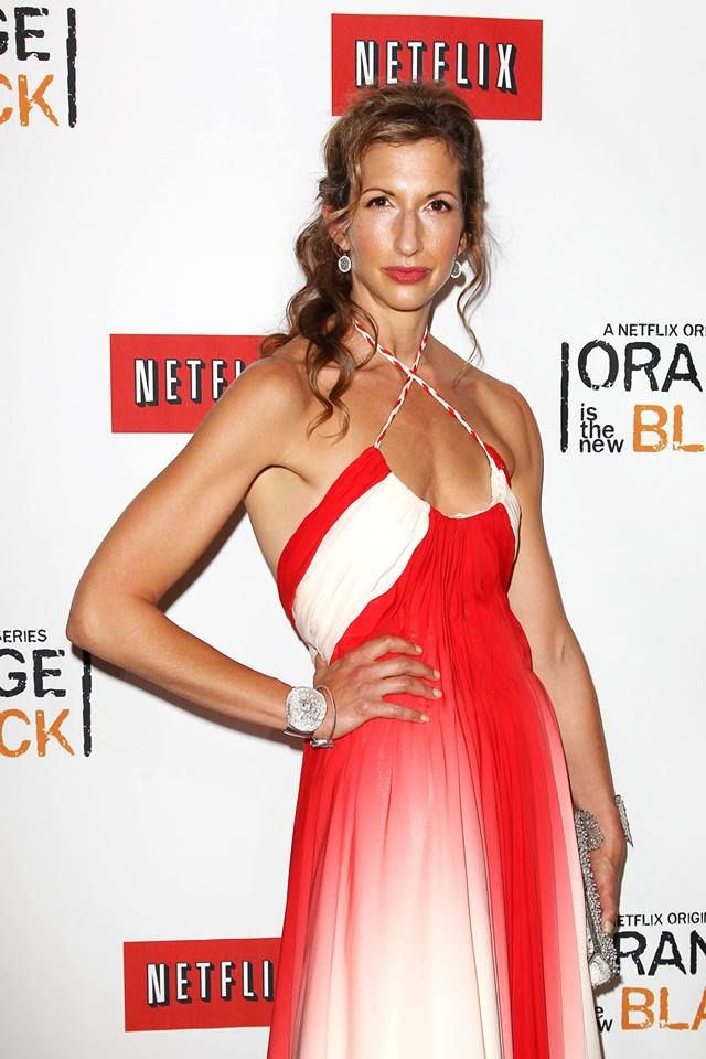 Alysia Reiner (Natalie Figueroa) at the Netflix Presents 'Orange is the New Black