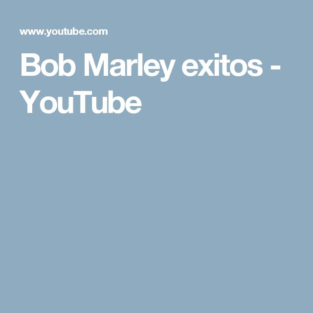 Bob Marley   exitos - YouTube