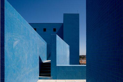 Teatro Azul de Almada (2002) Almada, Portugal. Manuel Graça Dias, Egas José Vieira.