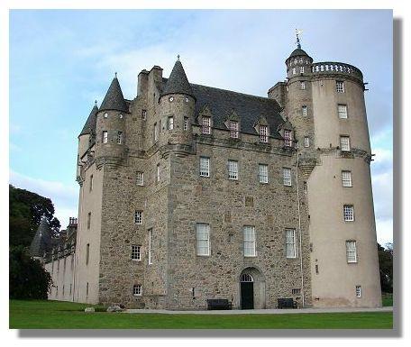 Fraser castle Aberdeenshire Scotland