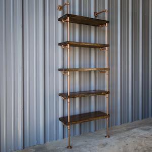 Shelving - Industrial Bookshelf