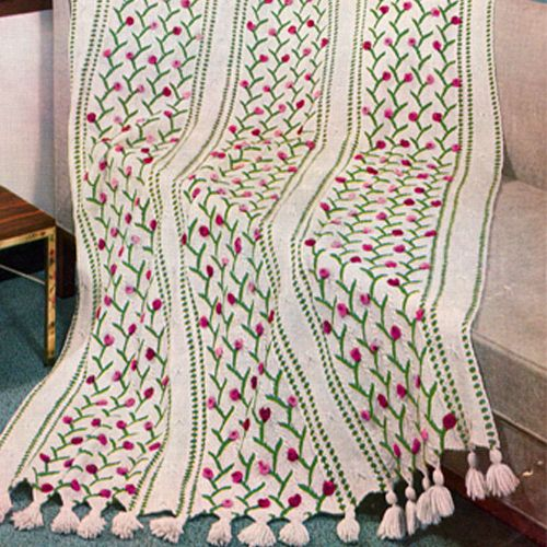 Mejores 89 imágenes de Knitted Afghan Patterns en Pinterest ...