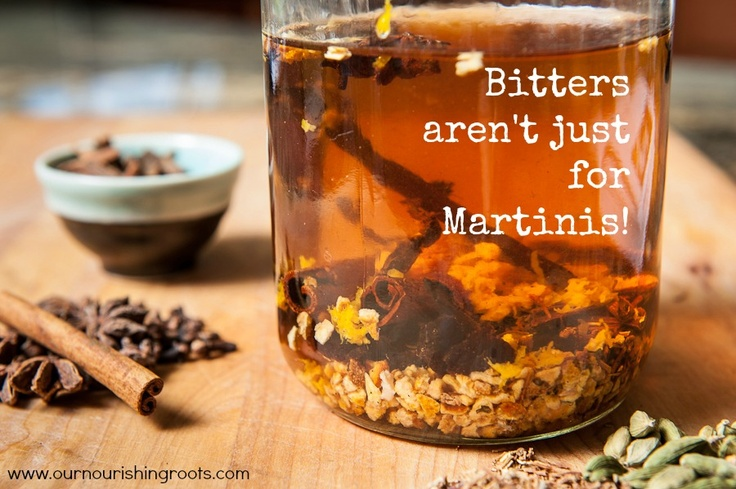 Bitters aren't just for Martinis:  Recipe for homemade aromatic bitters (Mainly for method...ingredients list is pretty long)