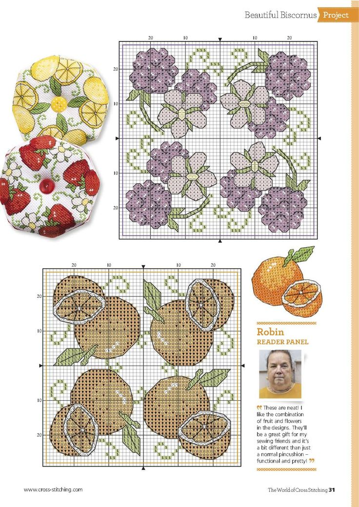 Pins And Needles (Amanda Gregory) From The World of Cross Stitching N°244 August 2016 3 of 5