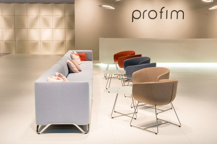 #Profim at Orgatec 2014 in Cologne. Collections: SOFTbox, Nu. Design: Paul Brooks.