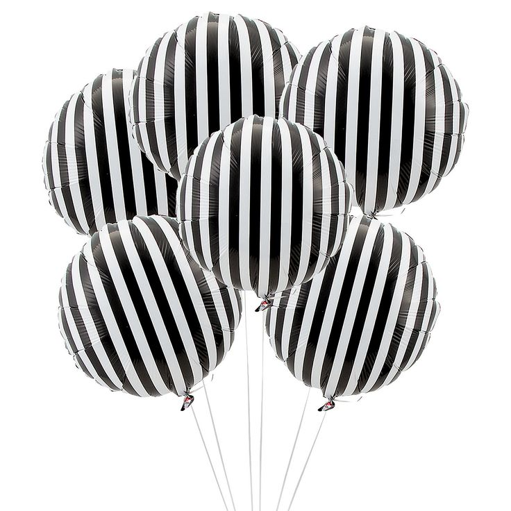 Wow! Fabulous black and white striped balloons ~ how cool would these be for your wedding!!!