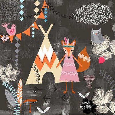 print & pattern: DESIGNER - wendy brightbill Auf printpattern.blogspot.fr http://www.pinterest.com/lesmoutaines/w-o-o-d-l-a-n-d/