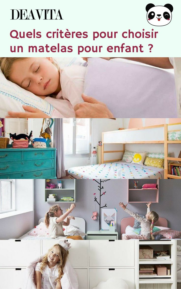 top 8 crit res respecter pour choisir le bon matelas. Black Bedroom Furniture Sets. Home Design Ideas