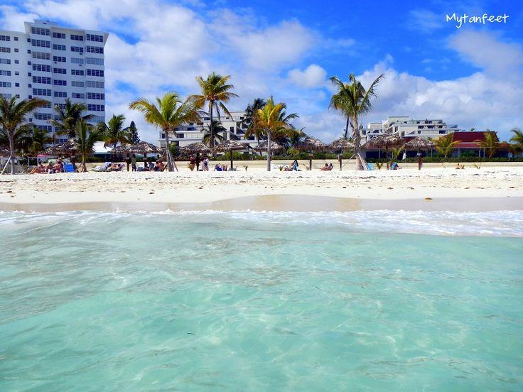 Coral beach Freeport, #Bahamas #beach