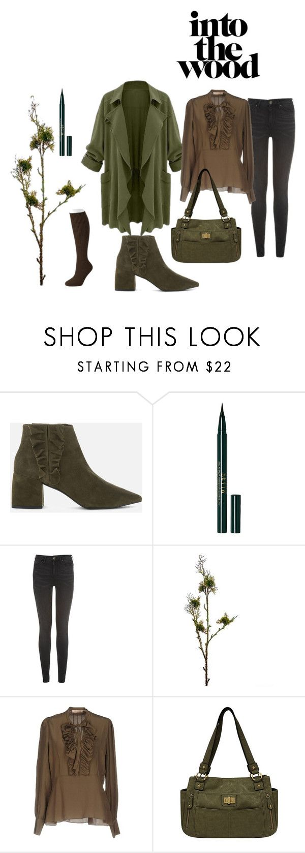 """""""Inspired by Nature"""" by triplee2017 ❤ liked on Polyvore featuring Senso, Stila, Tommy Hilfiger, Wyld Home, Room 52, Bueno and Apt. 9"""