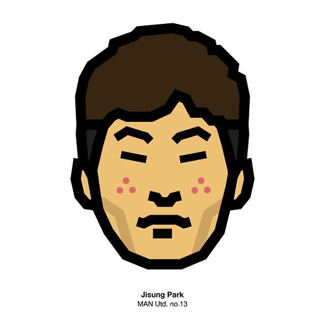 #Jisungpark #jisung #manu #manchester #manchesterutd #ambassador #character #design #faceicon #graphic #illustration #pictogram #jeansk