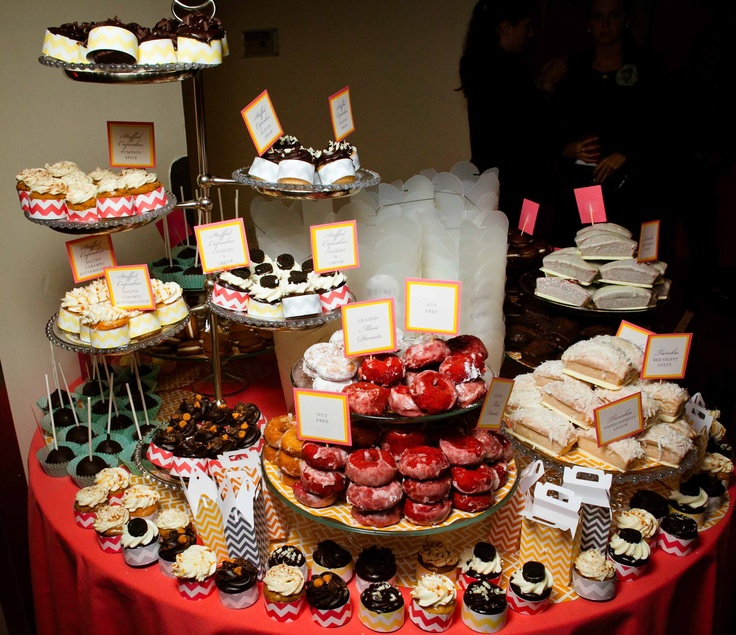 Yummy desert bar sidekick events pinterest deserts for Bar food yummy