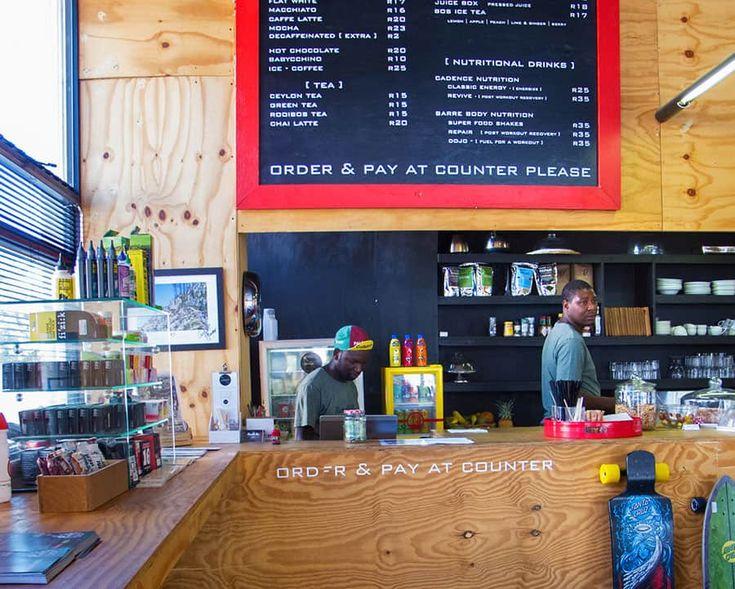 The Handle Bar är en  Kvarterskafé och cykelbutik i Kapstaden.