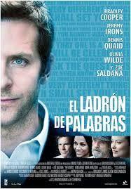 El ladrón de palabras [DVD-Vídeo], dirigida por Brian Klugman y Lee Sternthal.   Premio 2012 en la Seminci de Valladolid: sección oficial fuera de concurso (película de clausura)  L/Bc DVD 791 SPE lad   http://almena.uva.es/search~S1*spi?/tel+ladron+de+palabras/tladron+de+palabras/1%2C1%2C2%2CB/frameset&FF=tladron+de+palabras&2%2C%2C2